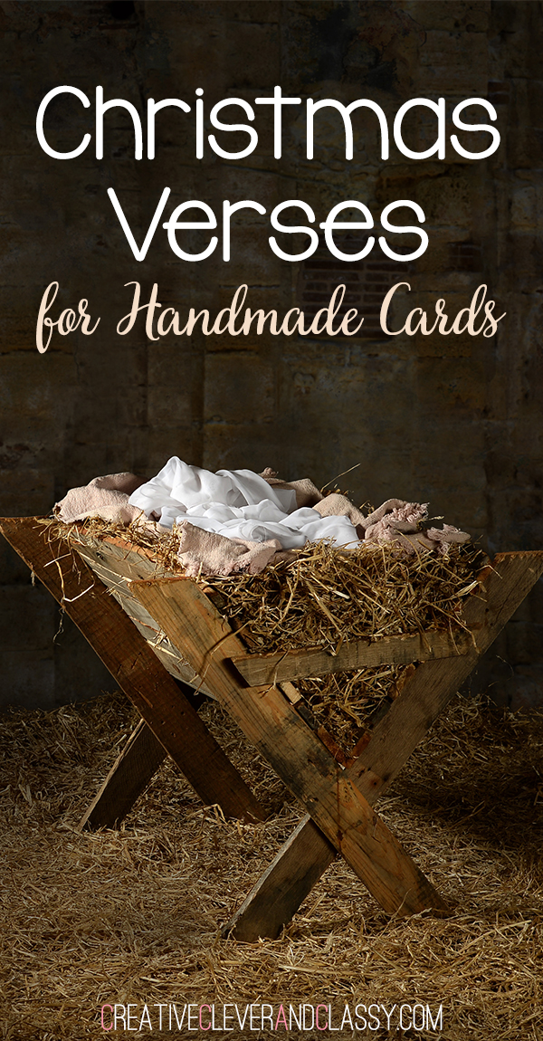 christmas verses for handmade cards - Best Christmas Verses