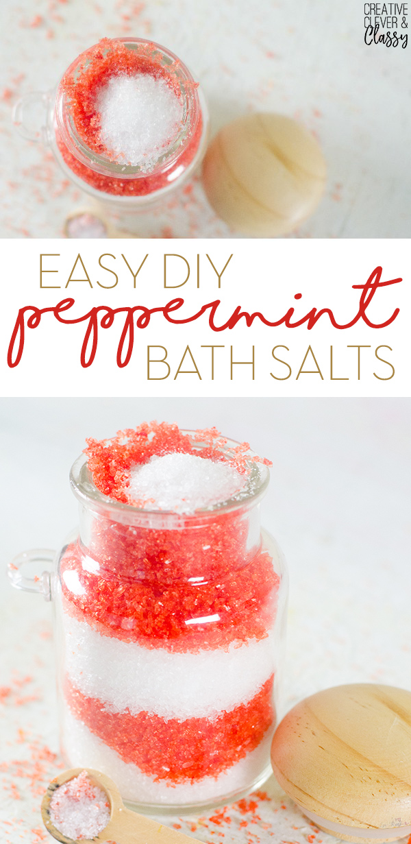 for an easy homemade christmas gift try christmas peppermint bath salts they have pretty - Easy Homemade Christmas Gifts