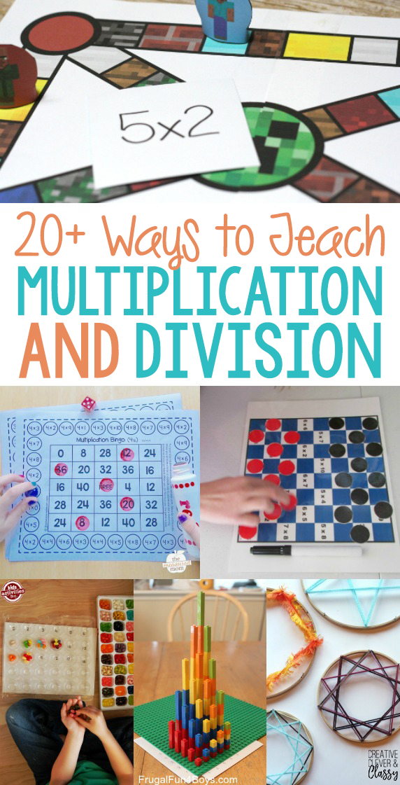 20  Ways To Teach Hands On Multiplication And Division