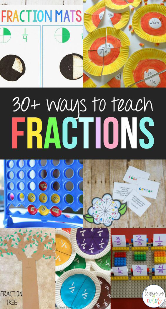 30 Of The Best Hands On Ways To Teach Fractions