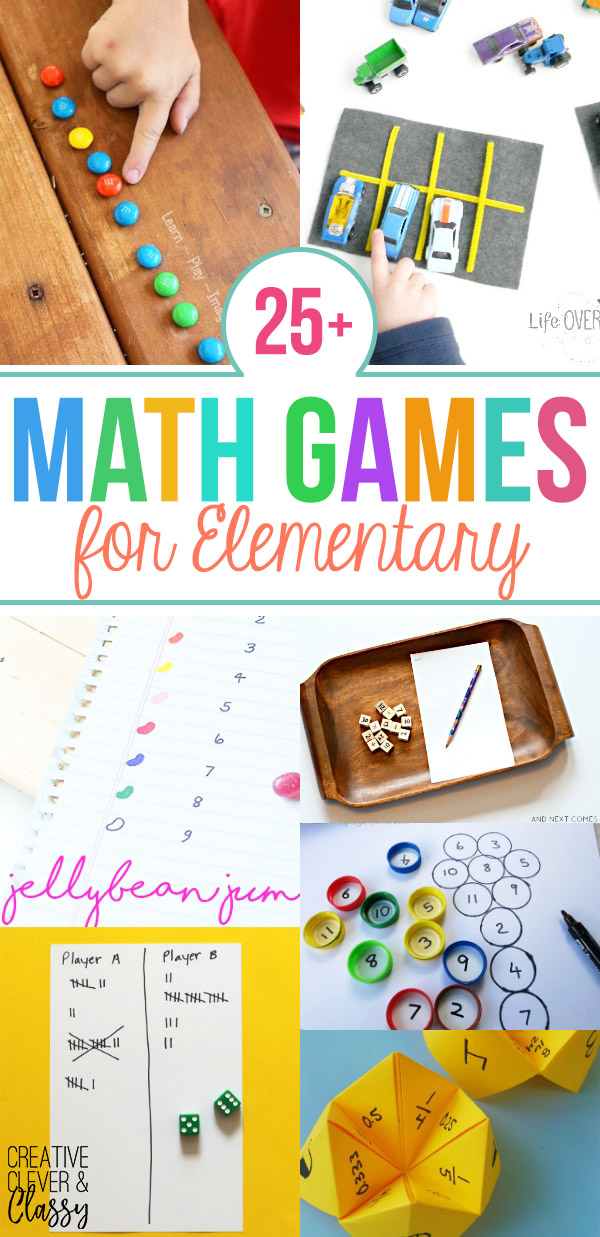25 fun diy math games for elementary students enjoy math hands on with these 25 diy math games for elementary students use these to teach fractions multiplication addition and more ccuart Images