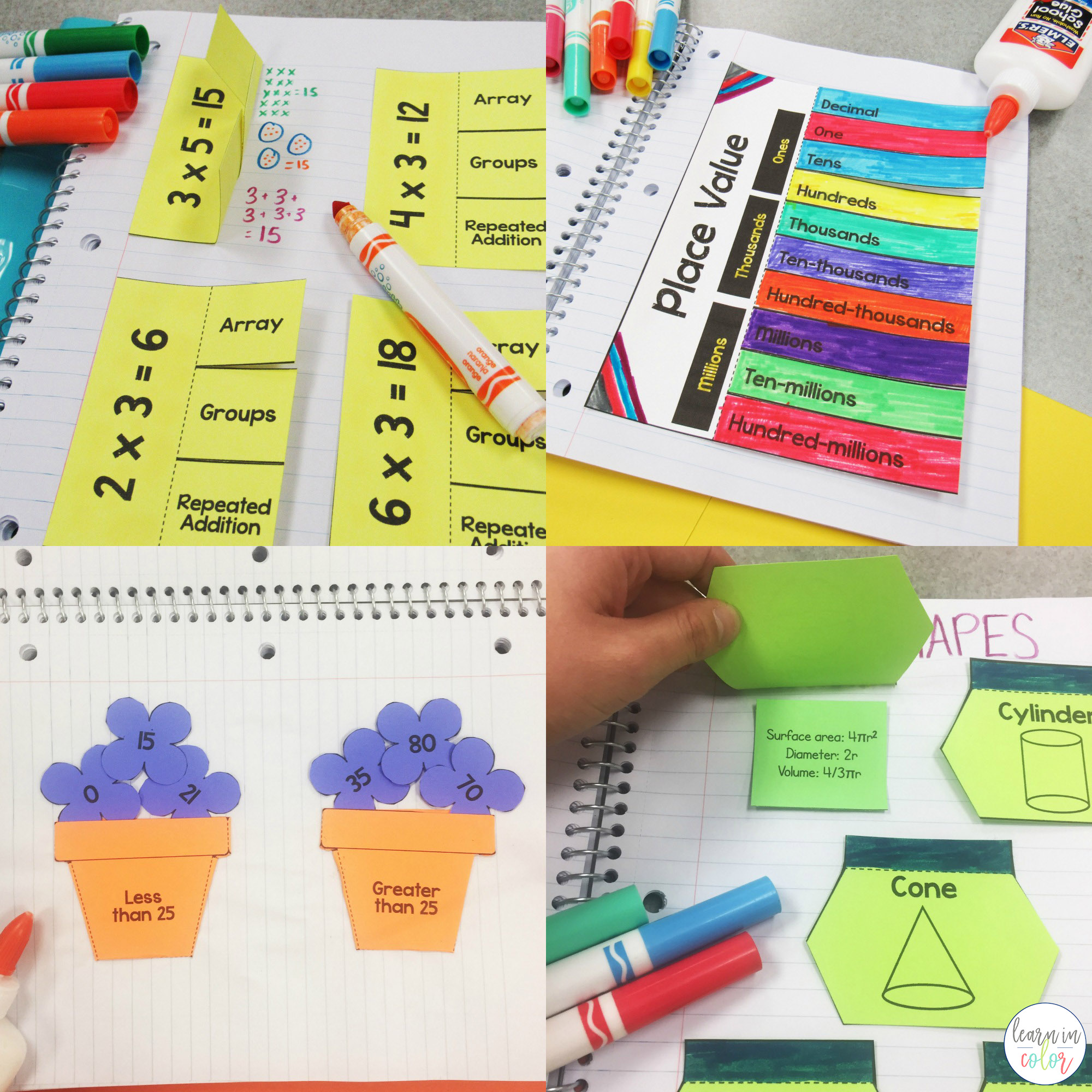 Math Interactive Notebook 2 copy   Creative, Clever and Classy