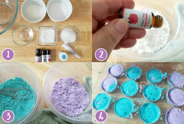 Diy Lavender And Rose Mermaid Bath Bomb Fizzies